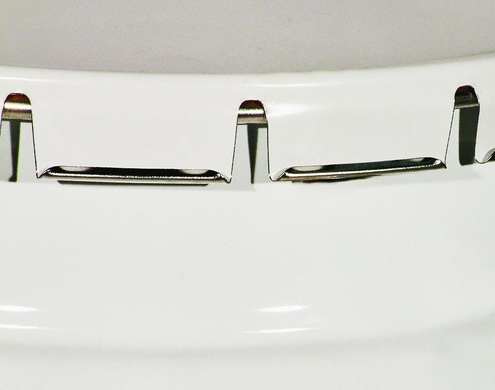 Couvercle pail à sertirCouvercle pail, la fermeture peut être réalisée manuellement ou automatiquement. Il suffit d'utiliser un tournevis pour ouvrir le couvercle.